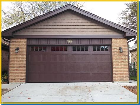 Brown Garage Door by Ultimate Remodelers Inc Lombard Il 60148 Angies List