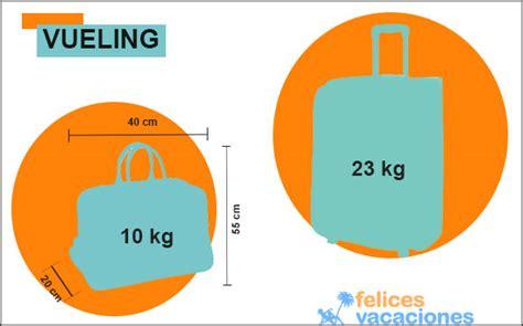 maletas cabina vueling medidas maletas y equipajes felices vacaciones