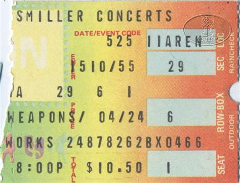 scorpions tickets scorpions concert tickets tour dates ted nugent 1980 tour concert ticket stub scorpions ebay
