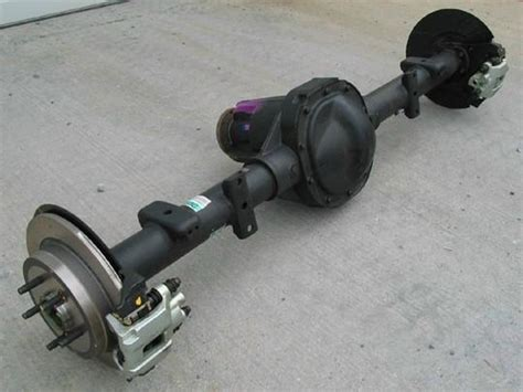 the ford explorer 8 8 inch rear axle