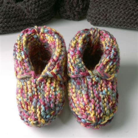 knitted moccasin slippers pattern 123 best images about moccasin patterns on