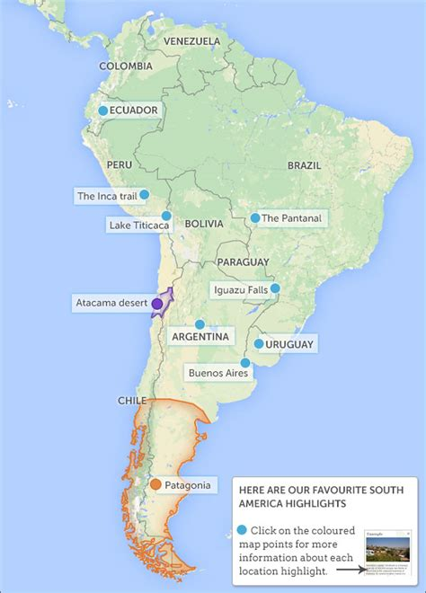 america map deserts places to visit on a south america overland south