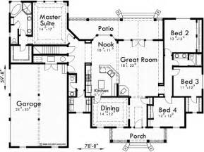 one story floor plans with bonus room colonial house plans dormers bonus room garage single