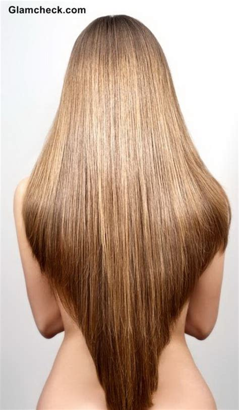 haircut shape v shaped haircut long hair