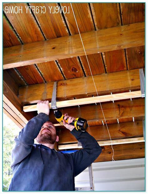 diy  deck ceiling