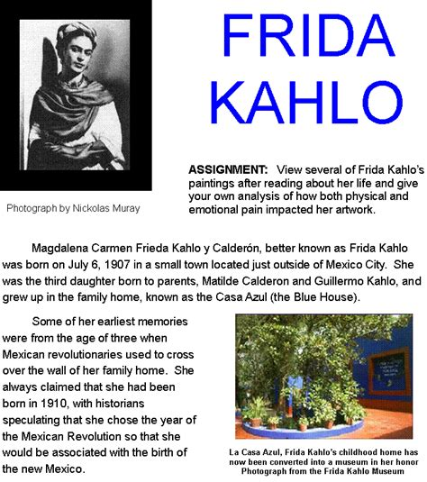 a biography of frida kahlo by hayden herrera pdf frida kahlo