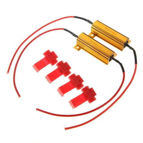 resistor led why flash rate load resistors led turn signals controllers us 4 21