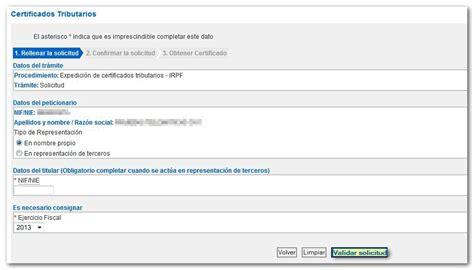 certificado de imputaciones de irpf 2015 como obtener una copia de la declaraci 243 n de la renta