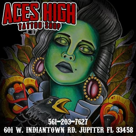 aces high tattoo jupiter aces high shop 38 photos 25 reviews