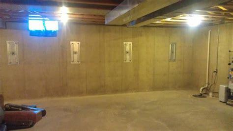basement wall anchors wall anchors stabilize basement wall