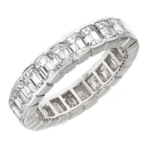 emerald wedding bands from mdc diamonds