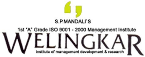 Welingkar Correspondence Mba by Welingkar Institute Of Management Elearning Portal