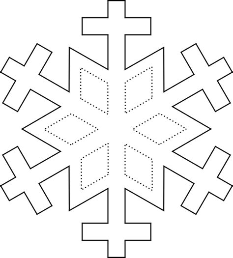 printable snowflake patterns to color printable snowflake coloring pages coloring home