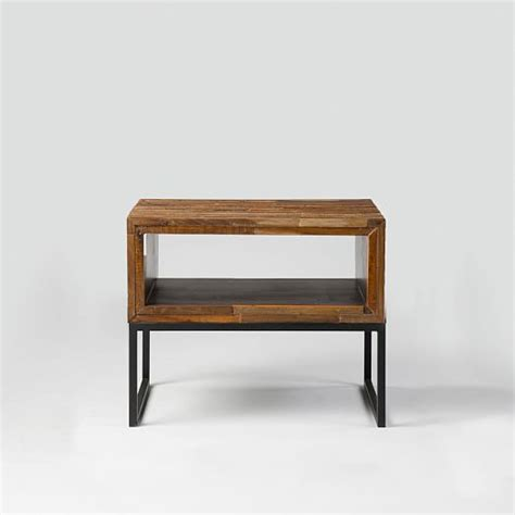 elm mixed wood coffee table mixed wood side table elm
