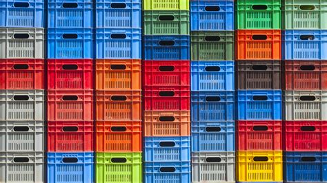cassette plastica cassette plastica sfondo contenitori industriali