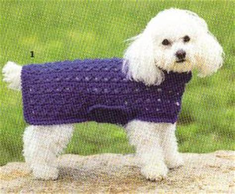 pattern for dog sweaters free the best sweaters and coats to crochet for your dog free