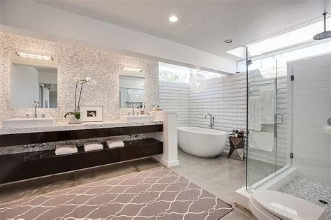 floating bathroom floor bathroom concrete floors modern bathroom jessica