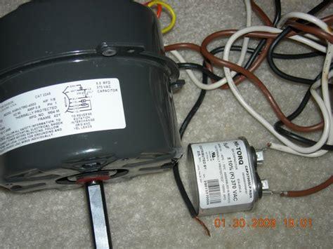 ac fan motor gets emerson air conditioner fan motor wiring diagram emerson