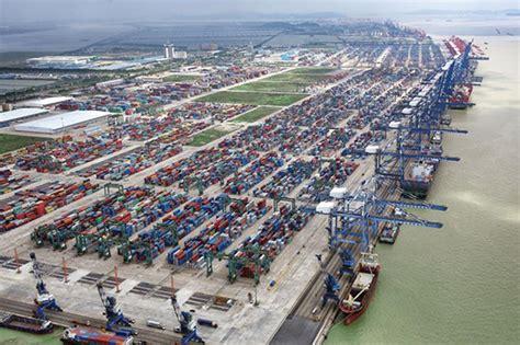 guangzhou port china l port of nansha guangzhou skyscrapercity