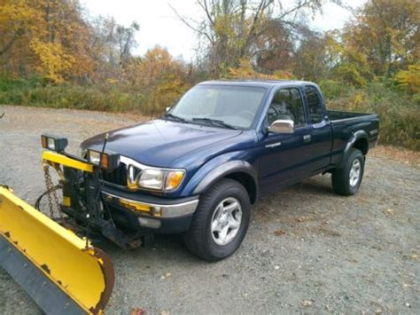 Snow Plow For Toyota Tacoma Sell Used 2002 Toyota Tacoma Extended Cab 4 Wd 3 4