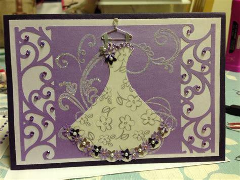 Handmade Bridal Shower Cards - bridal shower handmade card
