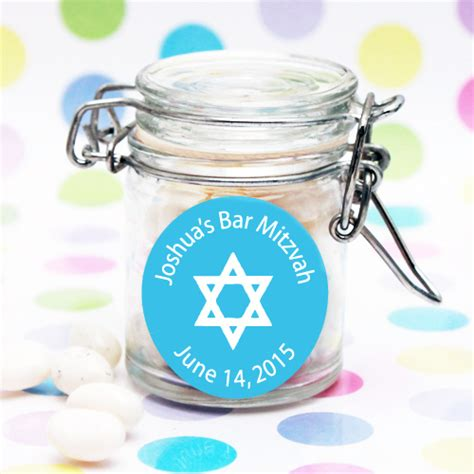 Bat Mitzvah Giveaways Personalized - personalized bar mitzvah favor jar bar mitzvah bat mitzvah party favors other