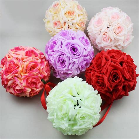 Silk Flower Wedding Centerpiece by Popular Silk Flower Centerpieces Weddings Buy Cheap Silk