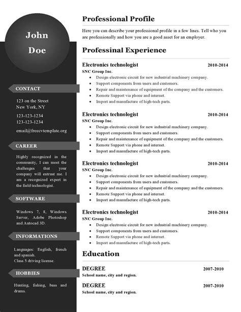 lyx resume template lyx resume template resume cv 28 images curriculum