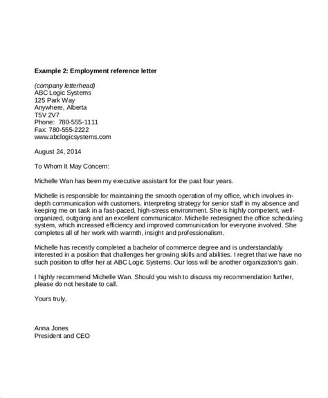 Reference Letter Executive Assistant Administrative Assistant Reference Letter Sle Recommendation Letter Administrative Assistant