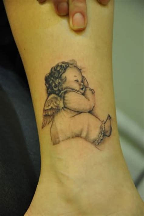 baby angel tattoo baby tattoos designs ideas and meaning tattoos