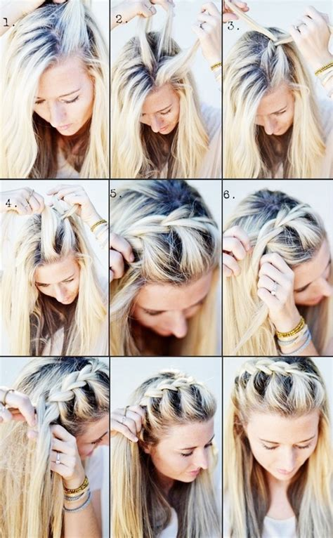 how to braid bangs steps perfect for when growing bangs out the shorter the