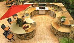 Outdoor Kitchen Plans Designs Elegant And Traditional Outdoor Kitchen Home Design