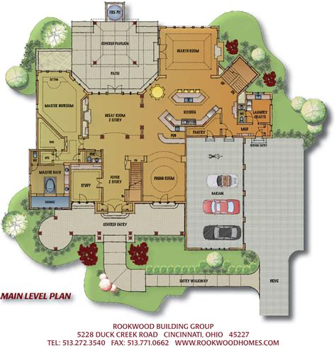 Custom Floor Plans For Homes by Cincinnati Custom Home Sophia S Harbor Long Cove