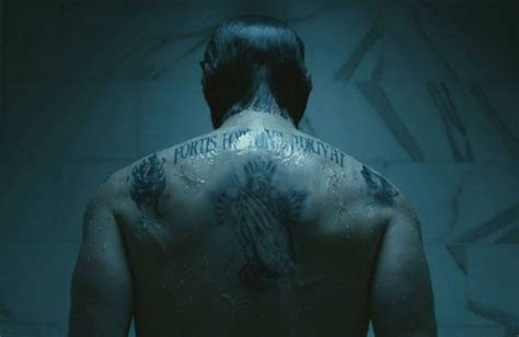 tattoo john wick back what do john wick s tattoos mean quora