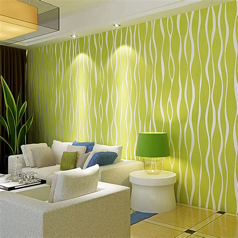 green wallpaper room green striped wallpaper living room living room