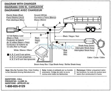away breakaway system electric brake caravan