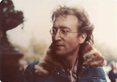 Candid Photos of John Lennon As Captured by Passersby and