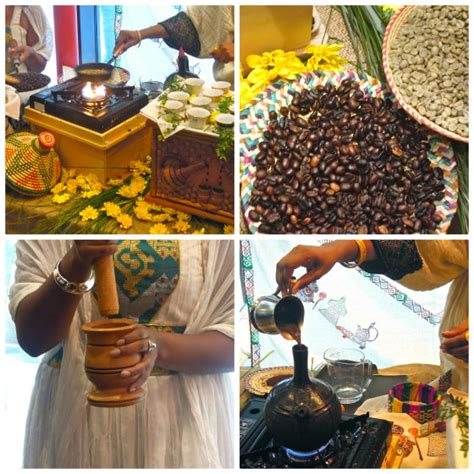 Traditional Ethiopian Coffee Ceremony Brewed Up by Chef Marcus Samuelsson and Cafe Colucci at SF
