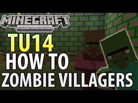 zombie villager tutorial minecraft ps3 how to cure zombie villagers villager