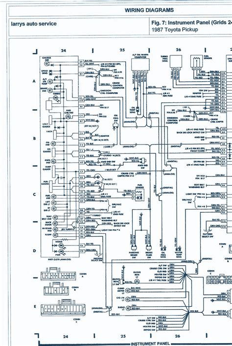 1987 toyota 4wd 22r engine wiring diagram auto