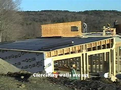 Bermed House by Byll Amp Cheryl S Earth Sheltered House Construction Update