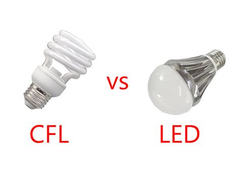 Cfl Vs Led Which Is The Better Light For You To Use Led Light Bulbs Vs Fluorescent