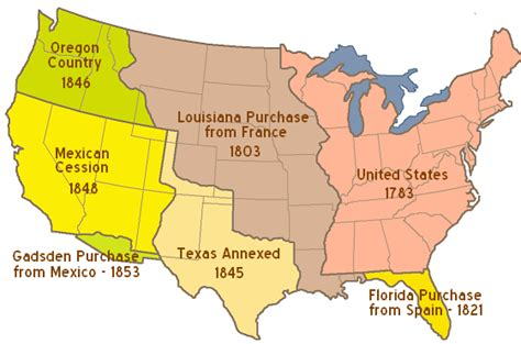 map of the united states during westward expansion early american territorial expansion a primer from dred