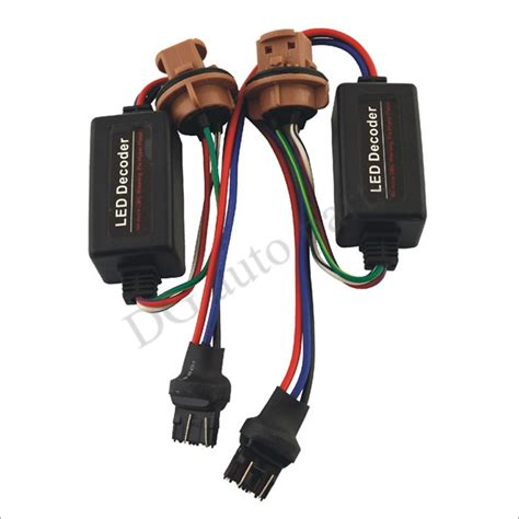 t20 led load resistor t20 led picture more detailed picture about 2pcs lot 7443 led decoder 7440 t20 canbus error