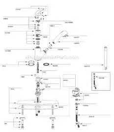 moen single handle kitchen faucet parts diagram moen 67315c parts list and diagram 3 10 to 10 10