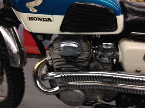 1969 honda cb350 scrambler collectible
