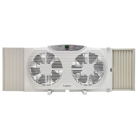 window fan with remote lasko 9 in remote control electronically reversible twin