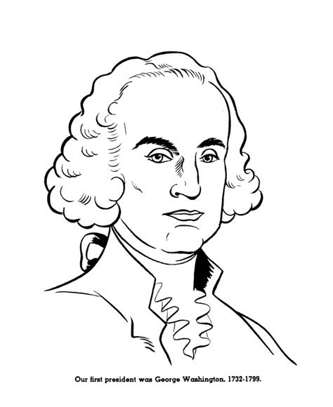 Free Coloring Pages Us Presidents Coloring Pages