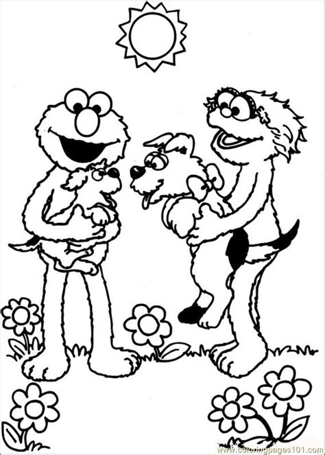 elmo number coloring pages elmo numbers coloring pages