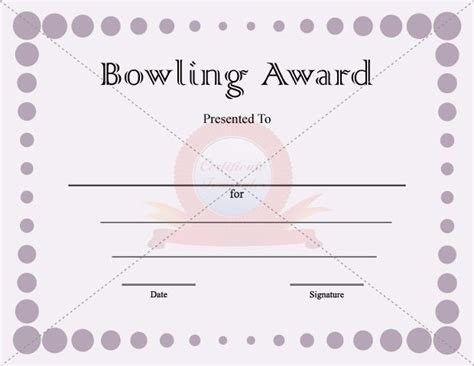 bowling certificate template 33 best images about certificate ideas on